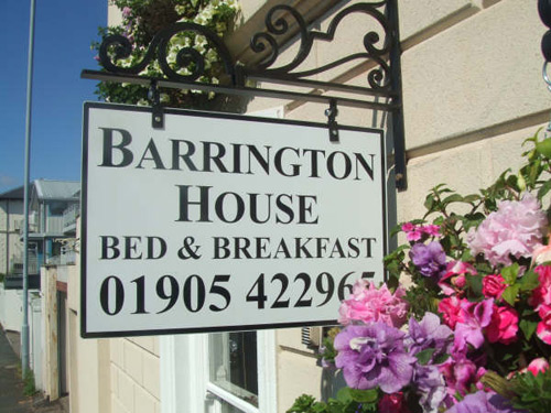 Barrington House Bed And Breakfast Worcester Hotels